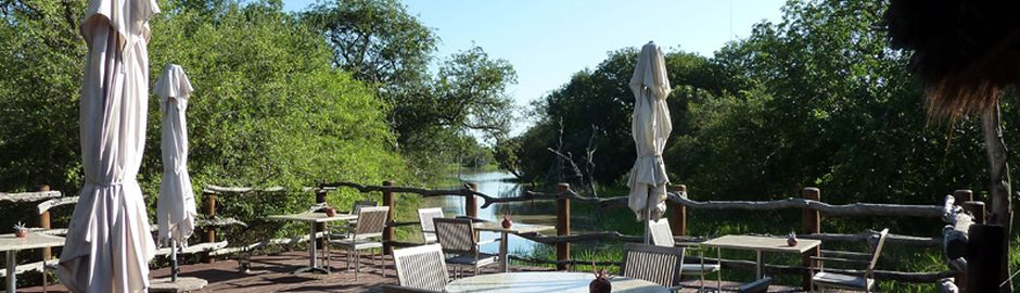 Kapama River Lodge Deck Cape Town and Kruger honeymoon