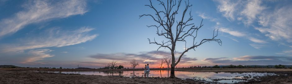 Married couple at Madikwe Hills
