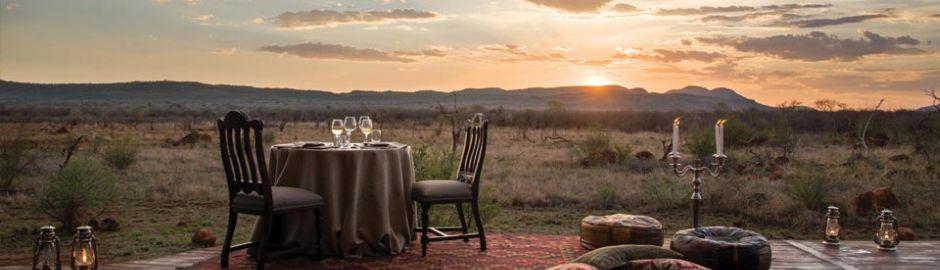 Madikwe Hills sunset 10 Night Cape Town & Safari Honeymoon