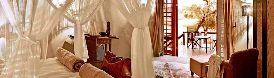 Motswari Safari Lodge bedroom suite Cape Town and Kruger honeymoon