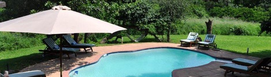 Thula Thula Private Game Reserve pool