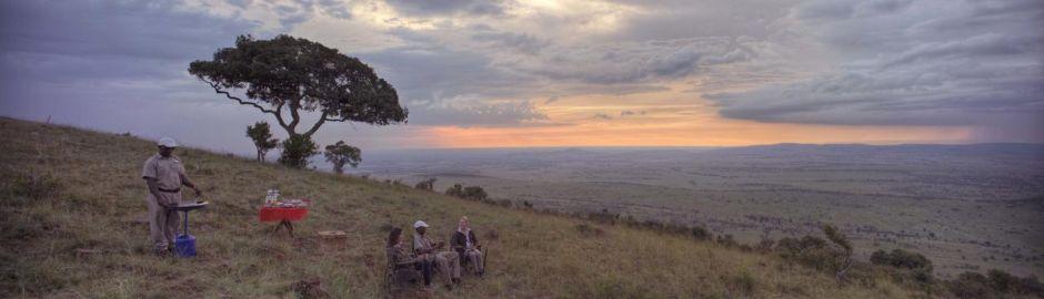 Bush Breakfast Klein's Camp Serengeti