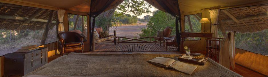 Jongomero Camp Luxury Tent View