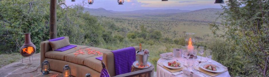 Klein's Camp Serengeti Private Veranda