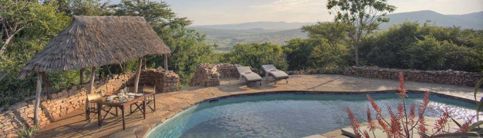 Pool Klein's Camp Serengeti