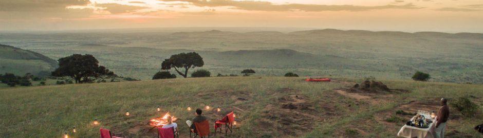 Sunset Klein's Camp Serengeti