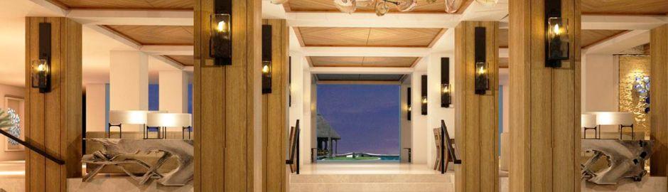 Lobby Shangri-la Le Touessrok Mauritius