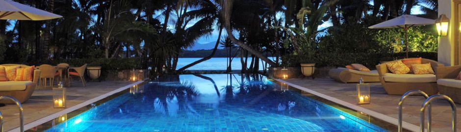Le Saint Geran Mauritius Spa Pool