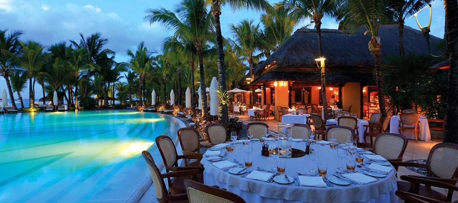 Le Paradis Hotel Mauritius restaurant