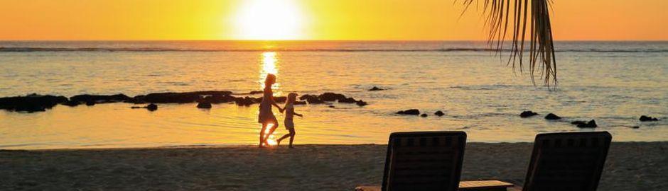 Le Victoria Mauritius Sunset