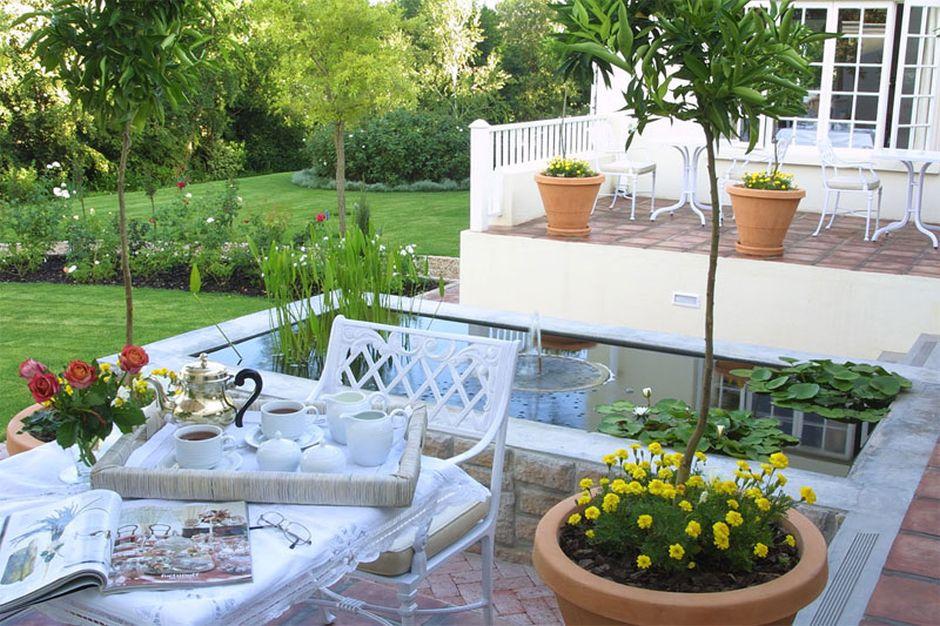 Rosenhof Country House terrace