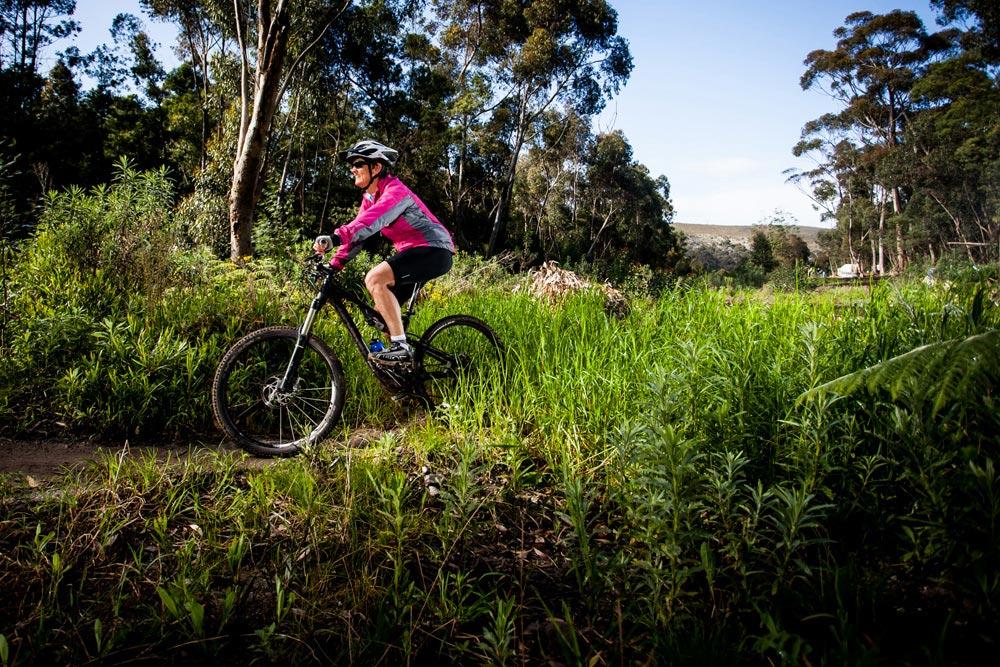 Mountain Biking in Hermanus. Image by Hermanus Adventures.